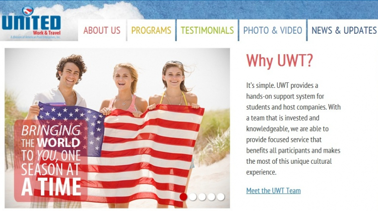 UNITED Work & Travel – A Division of American Pool Enterprises, Inc.