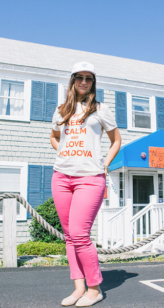 SILVIA BRIHUNET – American Summer în Falmouth, Keep Calm and Love Moldova!